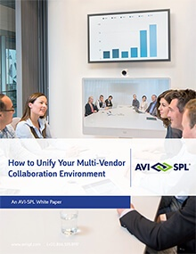 How to Unify Your Multi-Vendor Collaboration Environment White Paper Cover Image