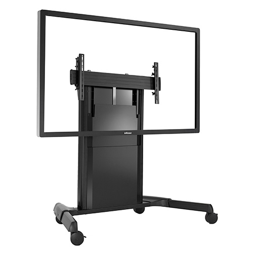 Chief Fusion Mobile Adjustable Cart lets you take your interactive classroom anywhere.