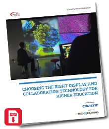 """Read """"Choosing the Right Display and Collaboration Technology for Higher Education"""""""
