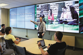 Display and Collaboration Technology for Higher Education